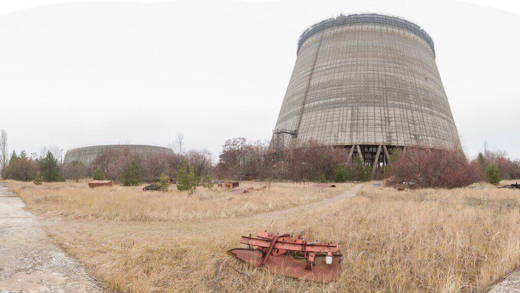 Czarnobylska wieża chłodnicza