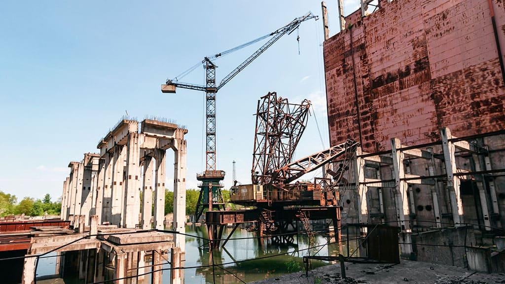 Co jest ciekawego w niedokończonym piątym bloku elektrowni jądrowej w Czarnobylu?