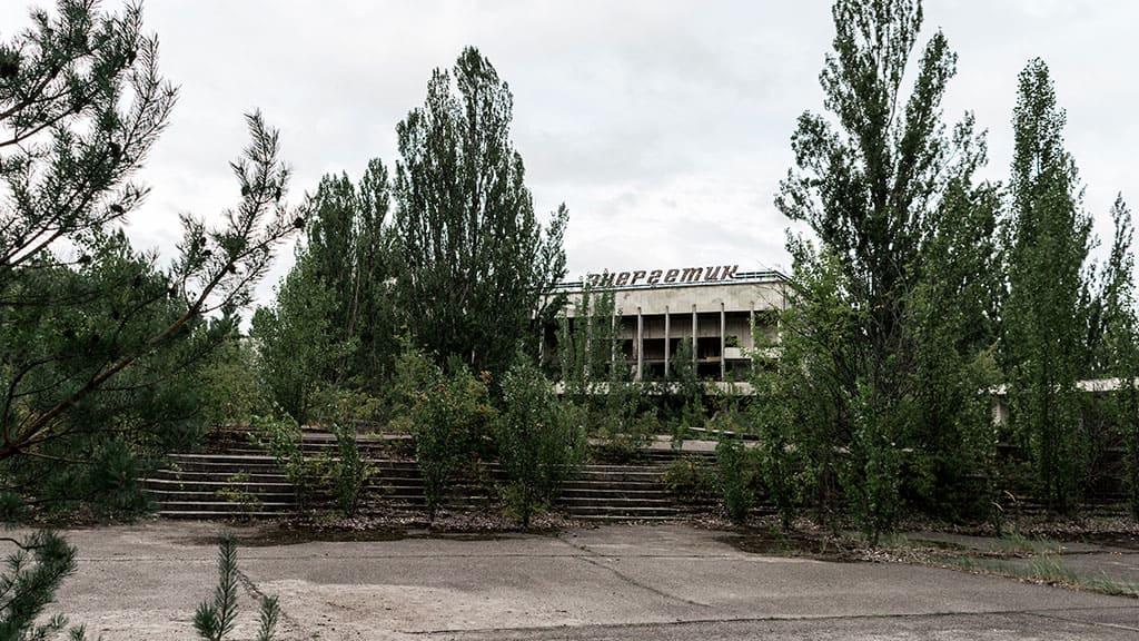 """Pałac Kultury """"Energetik"""" przed awarią w Czarnobylu"""