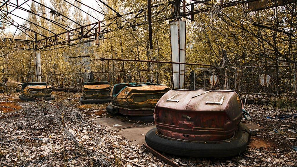 Park rozrywki w Prypeci - jednym z najbardziej klimatycznych miejsc
