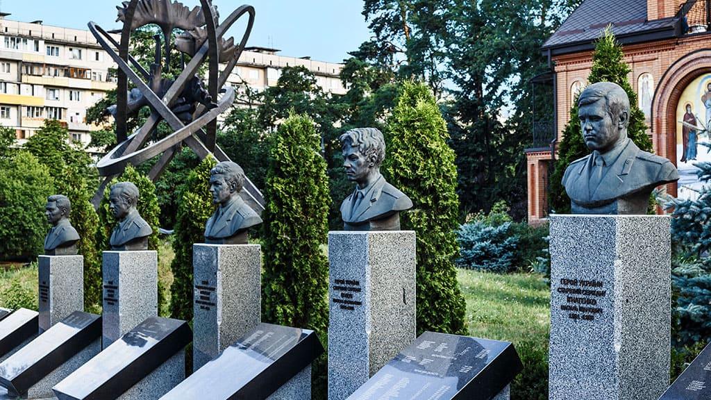 Pierwsi bohaterowie likwidatory awarii w Czarnobylu